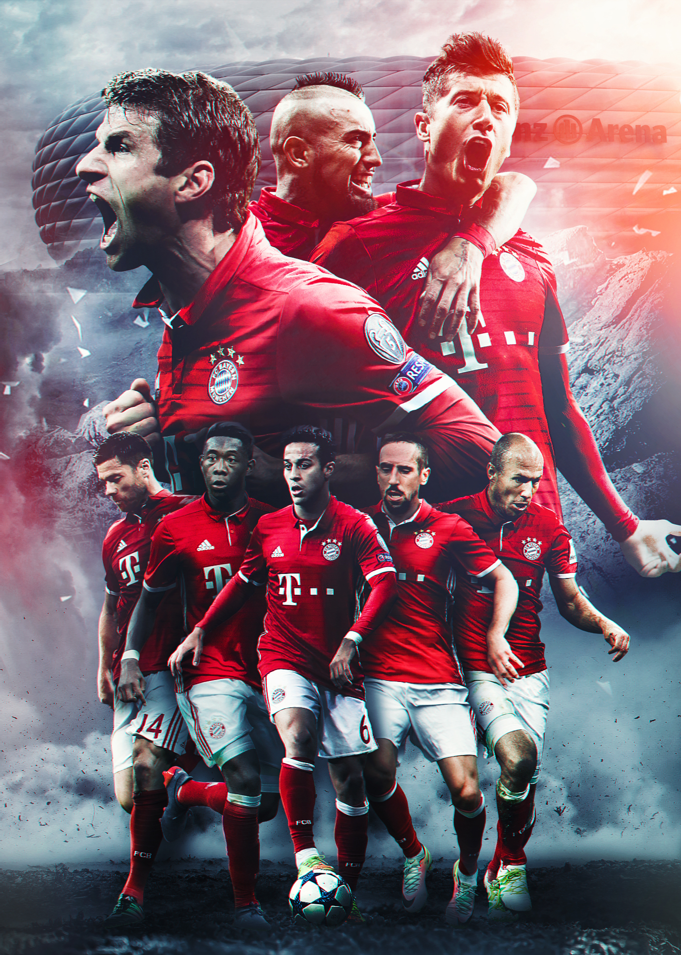 Bayern Munich Hd Wallpaper By Kerimov23 On Deviantart
