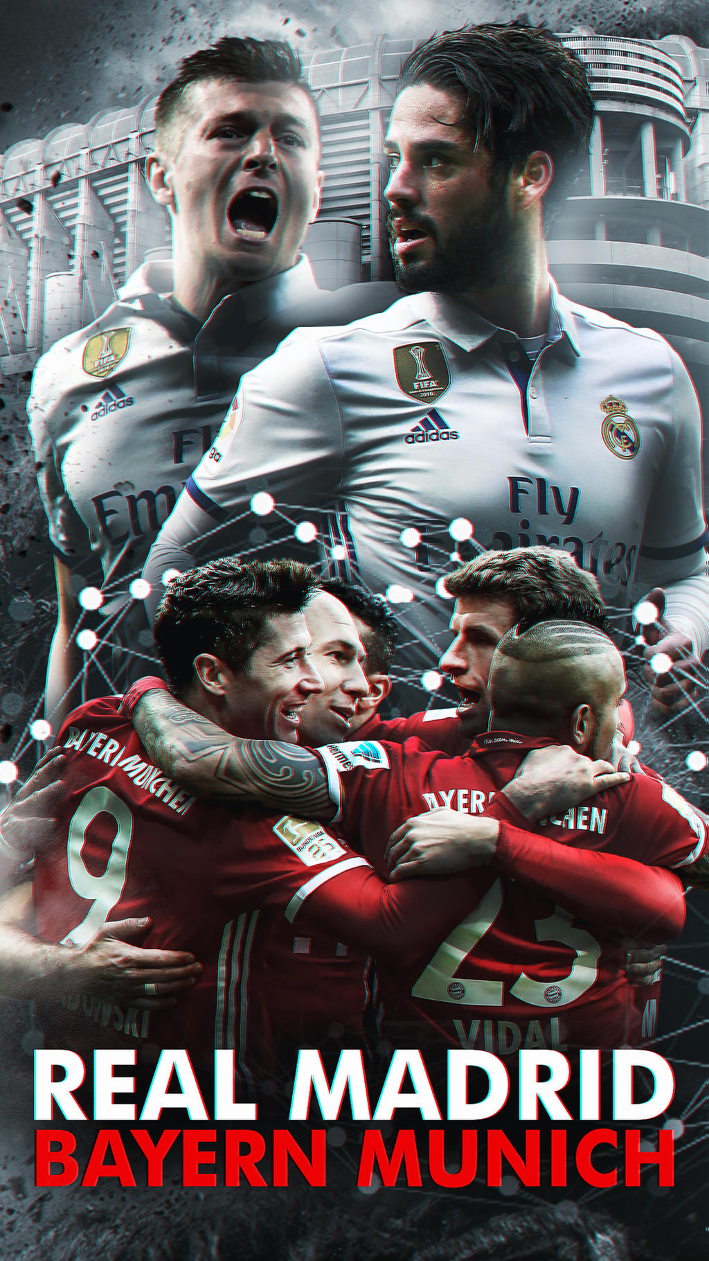 FCB Mia San HD Wallpaper Iconvostroog VostroOG 5 0 Real Madrid