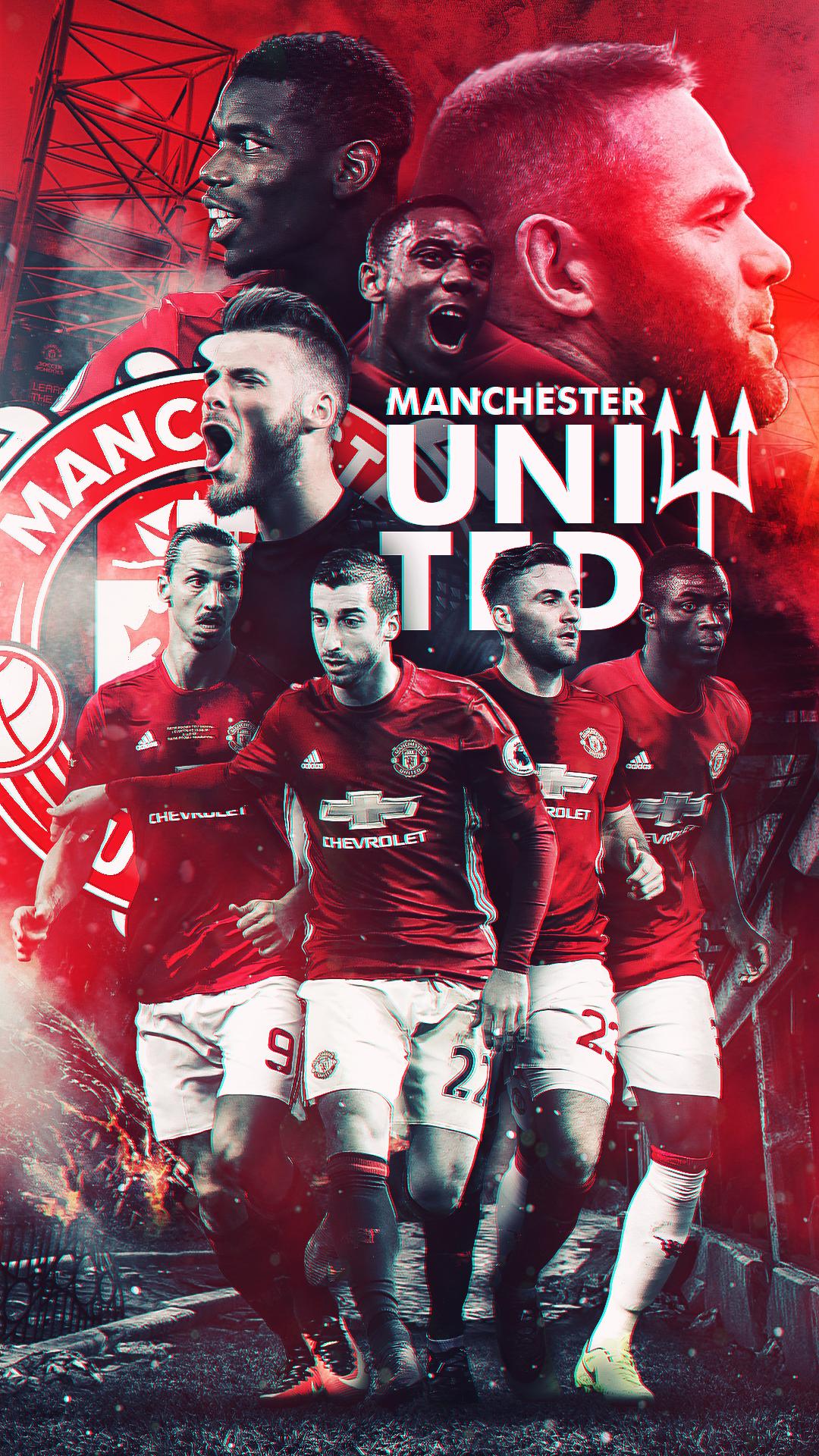 Manchester United - HD Wallpaper by Kerimov23 on DeviantArt