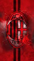 AC Milan - HD Logo Wallpaper