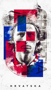 Luka Modric - Croatia Wallpaper