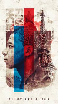 Kylian Mbappe - France Wallpaper