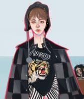 Taehyung by toubabie