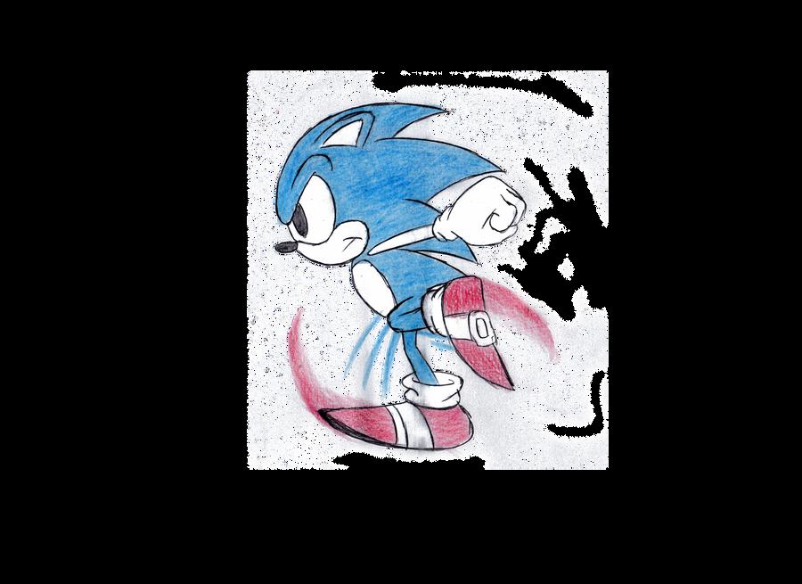 sonic running animations.