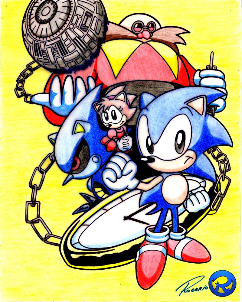 Disc By Supermaxer On Deviantart: Sonic CD By Rogferraz On DeviantArt