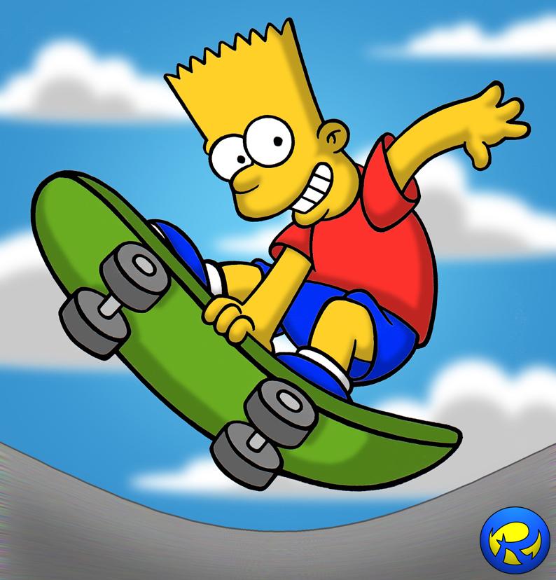 Skate Bart By Rogferraz
