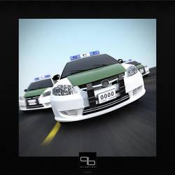 Cops by ZeroPointPolygon