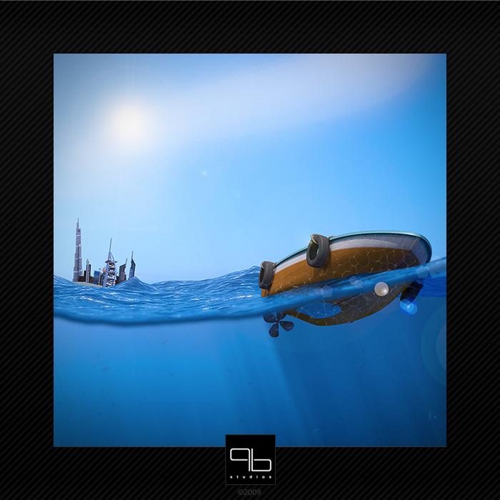 Ocean by ZeroPointPolygon
