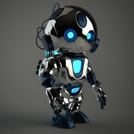 Robot by ZeroPointPolygon