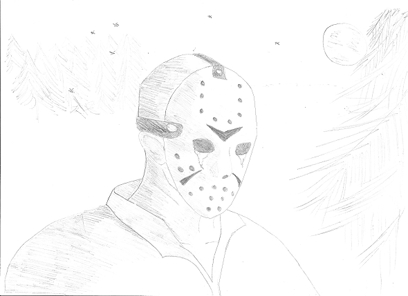 Jason Voorhees drawing by TFKat on DeviantArt