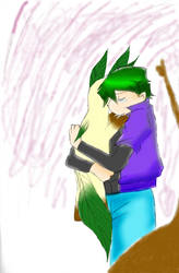 Leafeon and Drew
