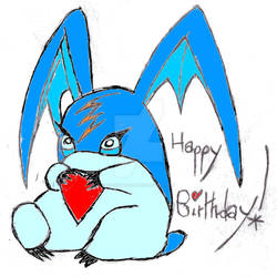 Happy Birthday, Aqua-Patamon ^^