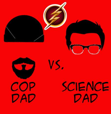 Cop Dad Vs Science Dad by Buck2889