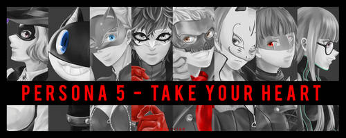 Persona 5 - Released! by Rissa-chi