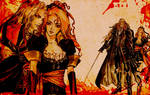 Alucard + Maria Wallpaper