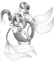Mermaids by Jenserai