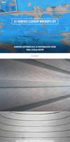 Surface Closeup Photoshop Mockups Set