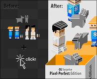 CG Surprise! Pixel-Perfect Edition by tami-q