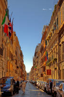 Just another street in Rome by the13wizard