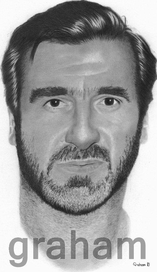 Eric Cantona by drawman61