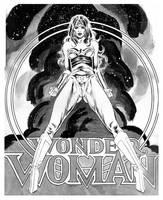 WONDER WOMAN by synthetikxs