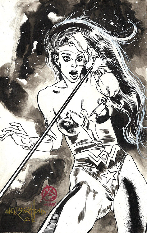 Wonder-woman-nipple Slip-mark Beachum-fanservice.w by synthetikxs