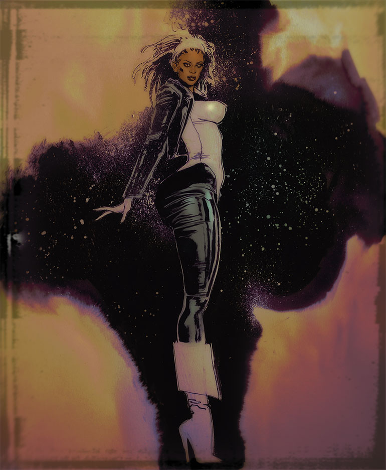 Monica.Rambeau-spectrum-captain marvel by synthetikxs