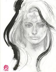 Ww-portrait-sketch by synthetikxs