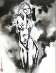 Vampirella Noir-ink by synthetikxs
