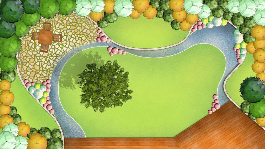 Gedeus Planning Garden design by wannaD on DeviantArt