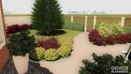 Front garden - gedeus planning by wannaD