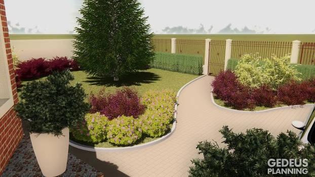 Front garden - gedeus planning