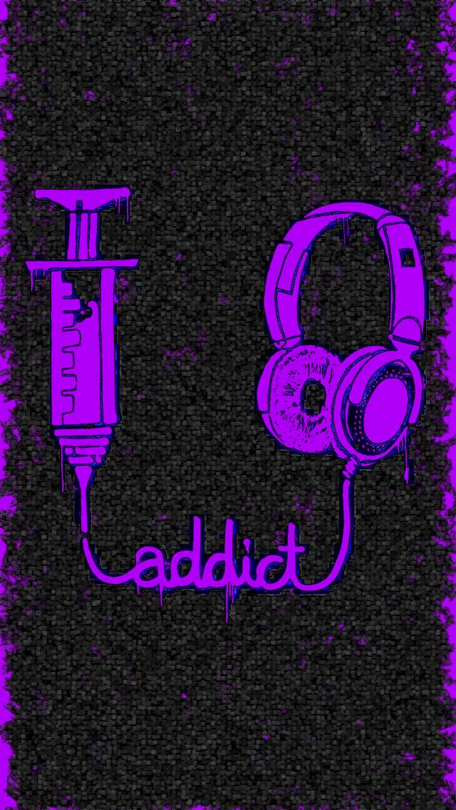 Music Addict IPhone 5 By IPurpl3X