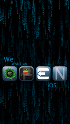 #WeWantAnOpeniOS Wallpaper (iOS6 Style) (iPhone 5) by iPurpl3X