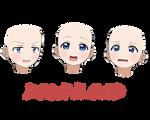 [MMD] Honoka Kousaka Face (DL)