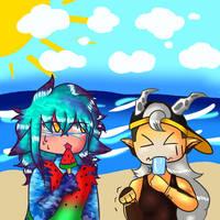Elefu Collab beach day