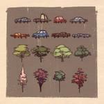 Cars N Trees.
