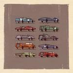Race Cars.