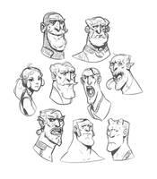 Doodles #1 by larolaro