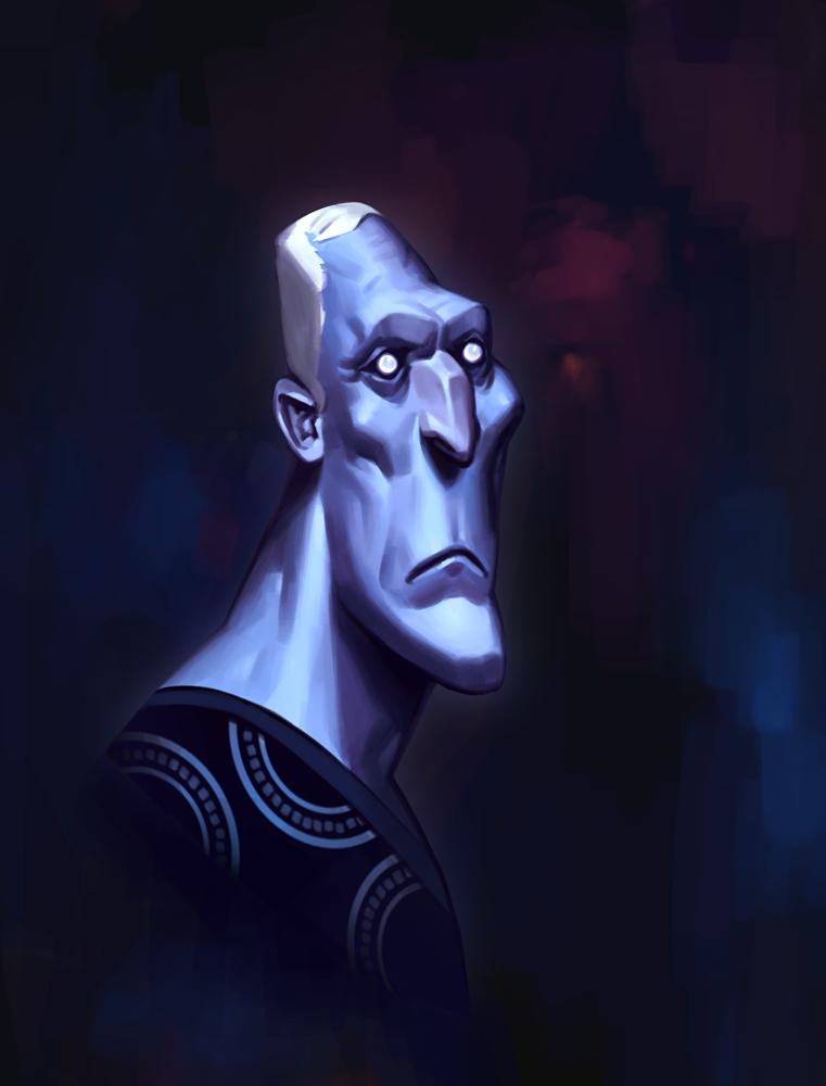 The Moon Guard 2 by larolaro