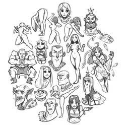 Doodles_2 by larolaro