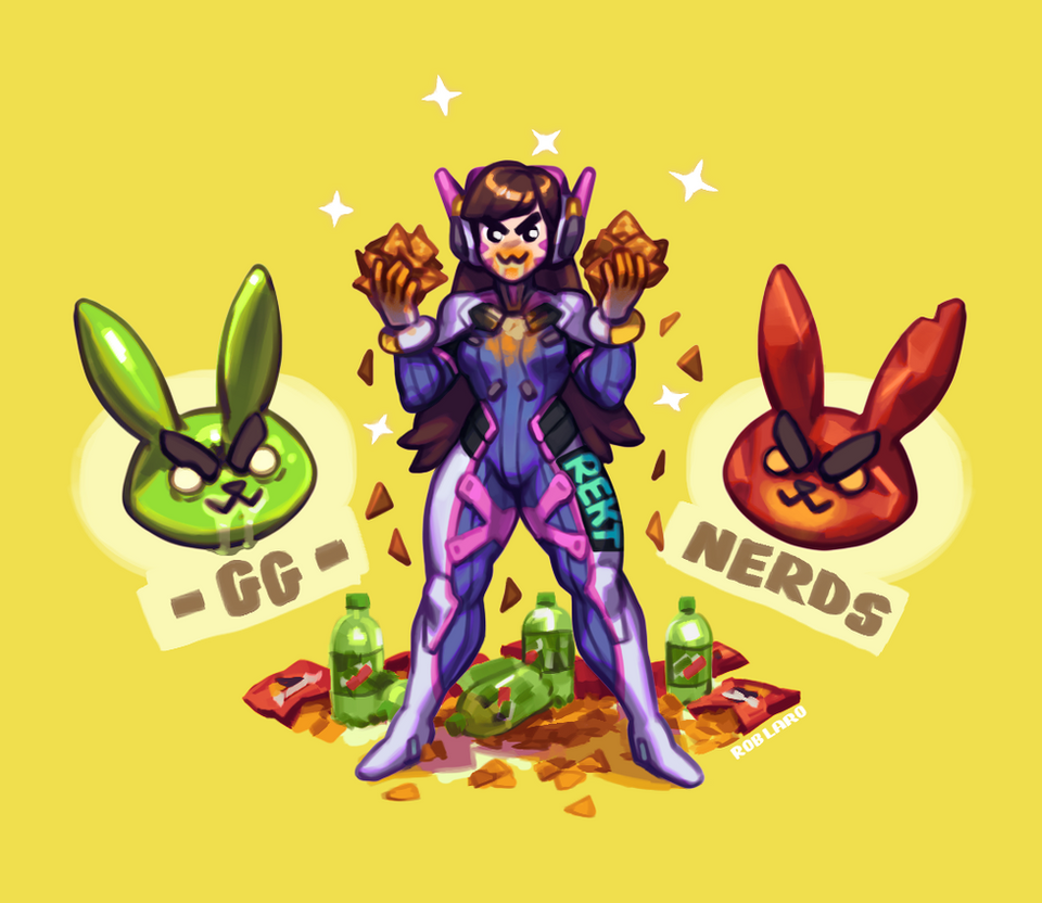 Gremlin D Va By Larolaro On Deviantart