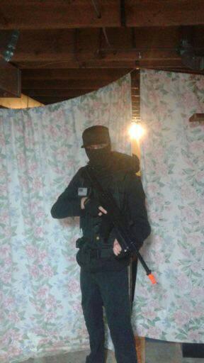Urban Combats (Psst... I'm being a Mall Ninja.) by Biorocket