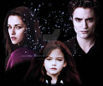 Renesmee, Bella and Edward