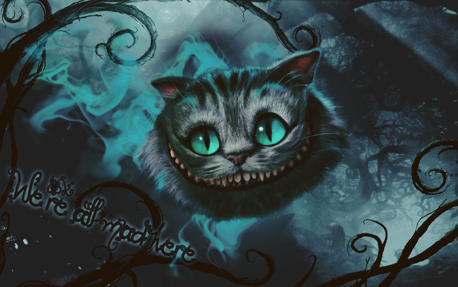 Grinning Cheshire Cat Picture
