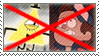 (Request) Anti- Bil Cipher x Dipper Pines stamp by nicegirl97