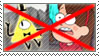 (Request) Anti- Bil Cipher x Mabel Pines stamp by nicegirl97