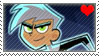 Danny Phantom fan stamp by nicegirl97