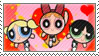 Classic Powerpuff Girls fan stamp by nicegirl97