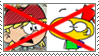(Request) Anti- Lana x Mugman stamp by nicegirl97